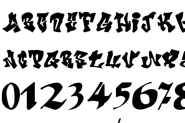 crazy calligraphy fonts ffont open source