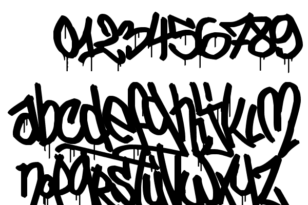 elfont urban calligraphy open source free