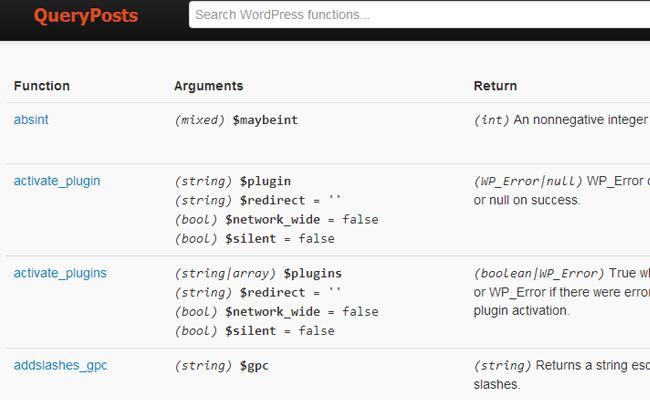 queryposts better wordpress resource code php