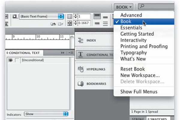 conditional variable text indesign cs4 tutorial