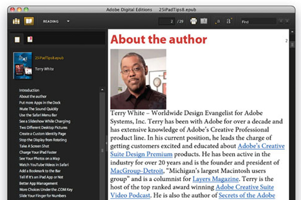 epub ibooks indesign tutorial how to