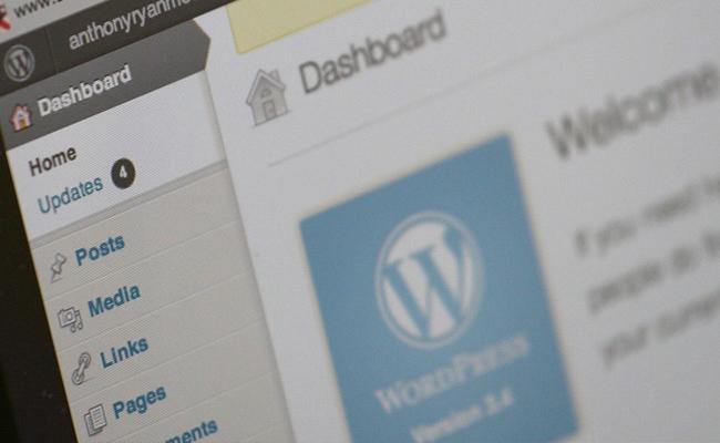 wordpress login wp-login dashboard screenshot