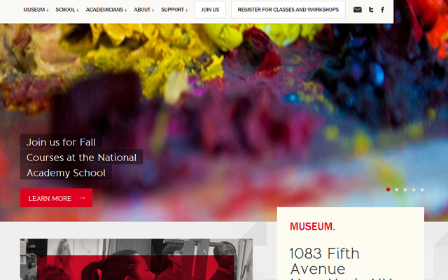 national academy museum website wordpress