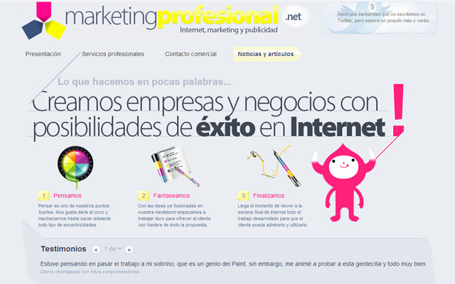 marketing profesional branding website layout on wordpress