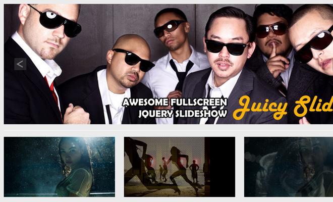 juicy slider jquery free plugin download images