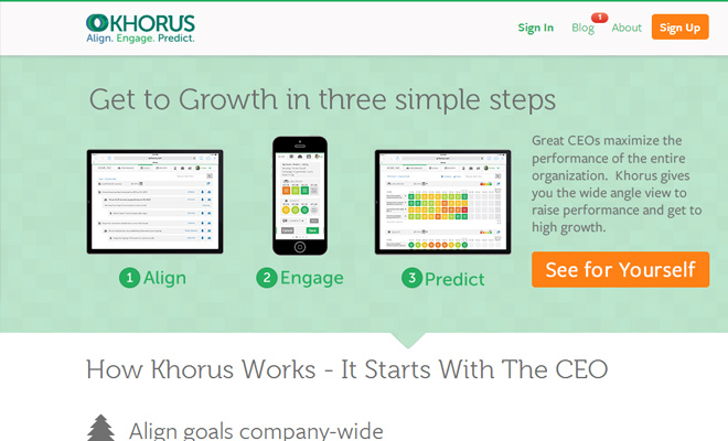 app design icons layout homepage startup khorus