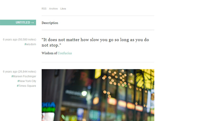 linear green white simple minimal tumblr theme