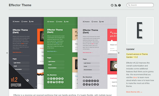 effector theme tumblr freebie