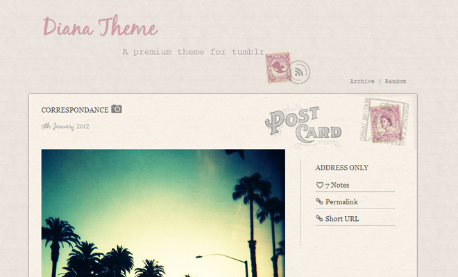 diana pink texture writing handwriting blog theme tumblr