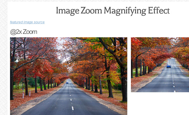 jquery easyzoom plugin hover images tutorial preview