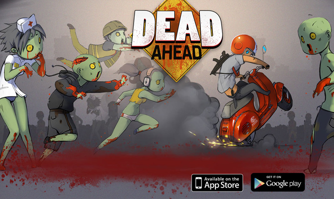 dead ahead zombies mobile ios game layout website