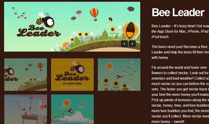 bee leader project flightless inspiring design