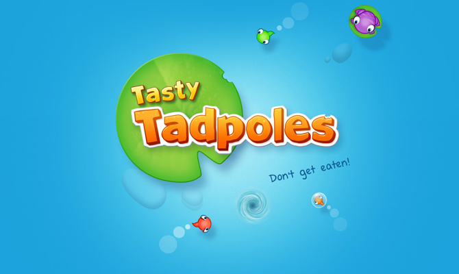 textures colorful water tadpoles tasty ios mobile app game website