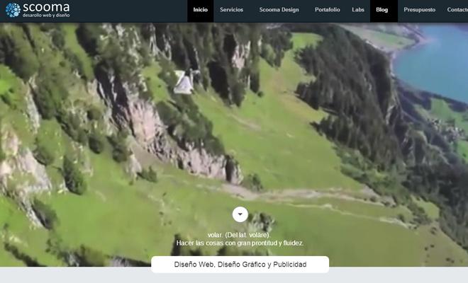 scooma design fullscreen video background