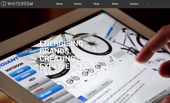 whiteroom design agency video fullscreen effect