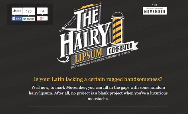 hairy lip mustache generator text lorem ipum