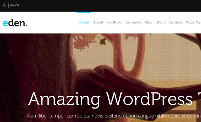eden search field inspiration design website layout