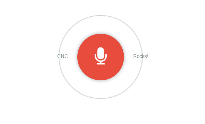 google voice search icon design animated