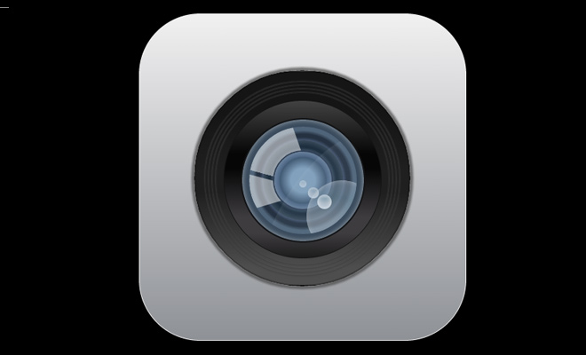 ios6 camera icon open source css code