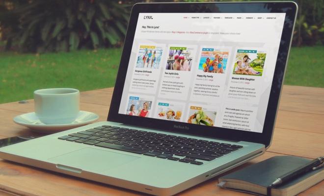 featured image laptop ecommerce shop website design