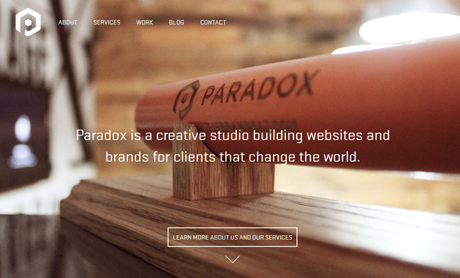 paradox design studio layout responsive