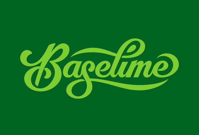 baselime vector design typograpy ui