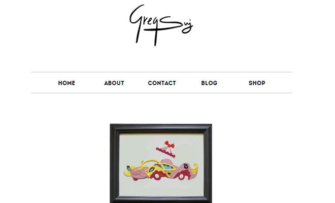 gregory sujkowski designer website portfolio