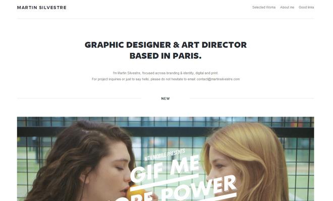 martin silvestre graphic art director paris portfolio