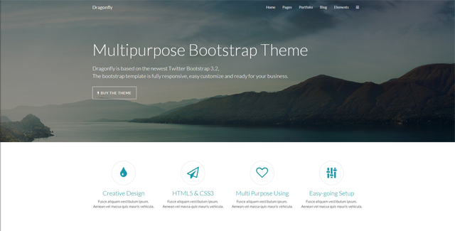 dragonfly - responsive business theme
