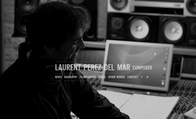 laurent perez del mar composer music website