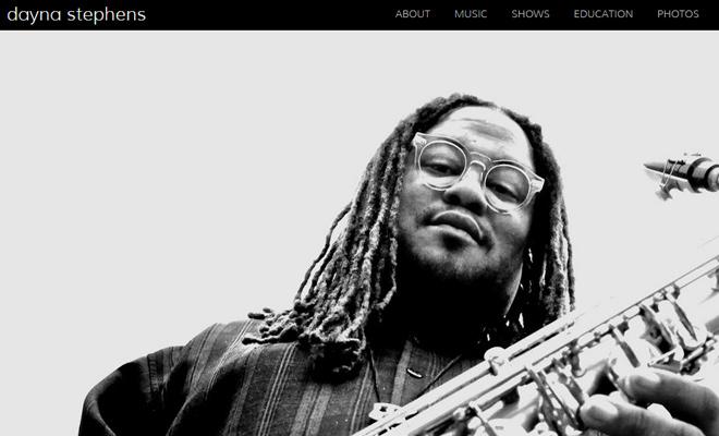 dayna stephens saxaphonist musician website