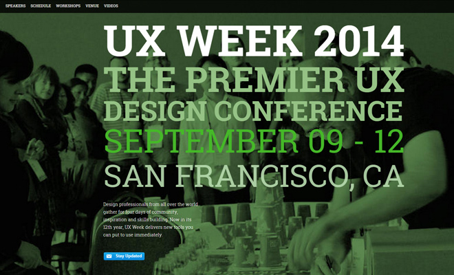 ux week 2014 user experience conference