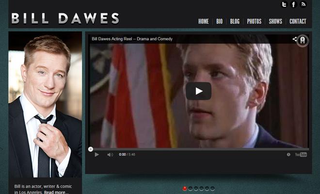 bill dawes standup comedian homepage