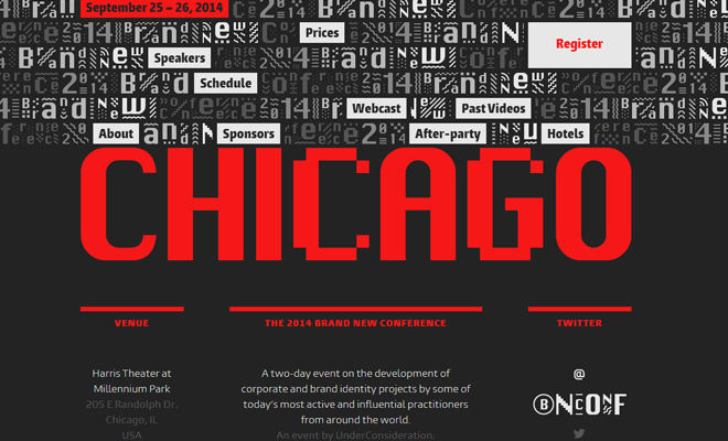 chicago 2014 brand new conference website