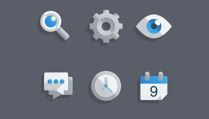 almost flat icons tutorial