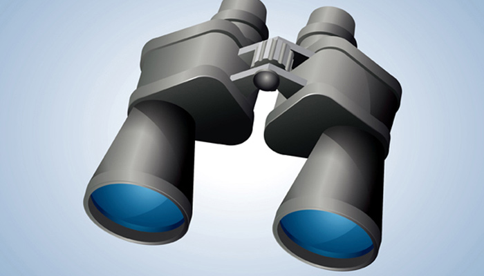 binoculars illustrator icon vector tutorial