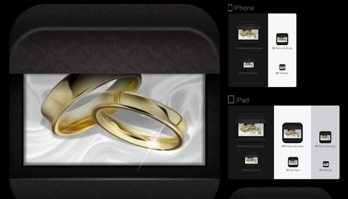 jewelry icon ios style tutorial