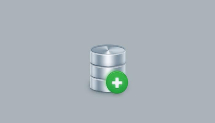simple database server icon design tutorial