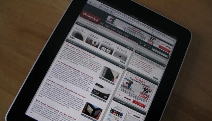 ipad safari website responsive design