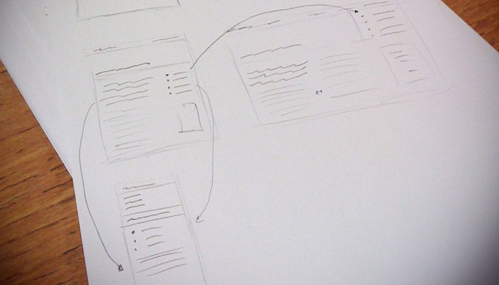 featured wireframe sketch mobile website responsive design