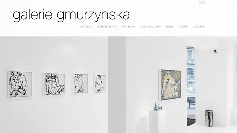 galerie gmurzynska museum website minimalist