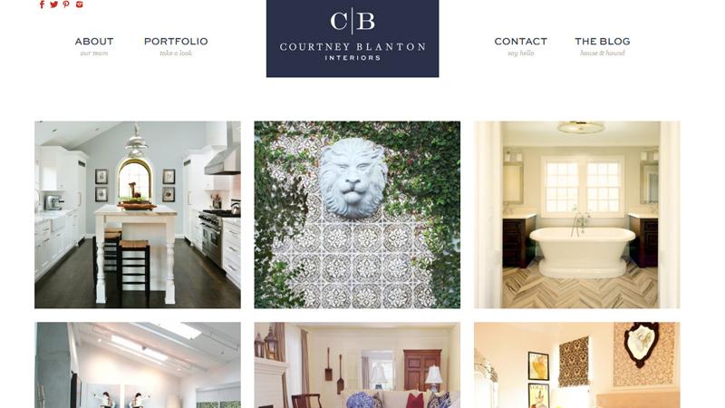 courtney blanton interiors agency