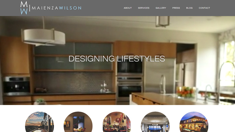 Superior Maienza Wilson Interior Designer Website