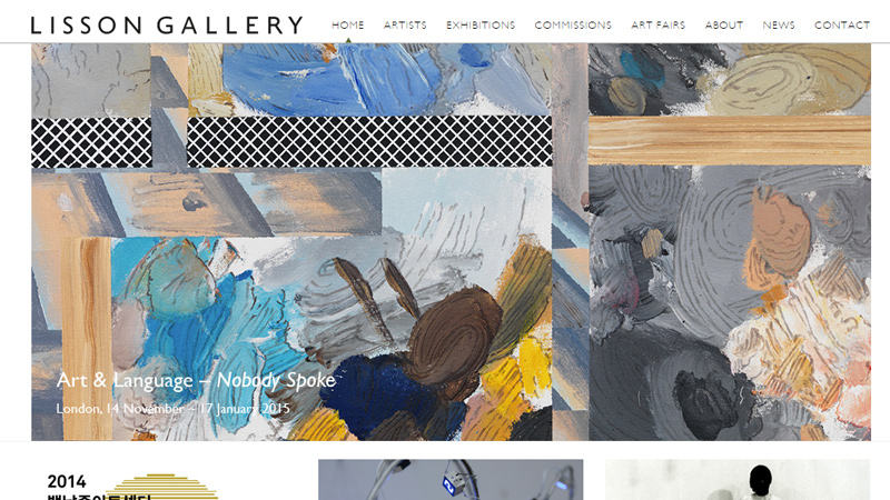 36 inspirational fine art gallery museum websites for Best art websites for artists