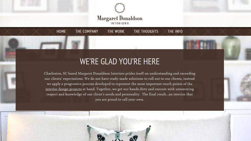 margaret donaldson interior design website
