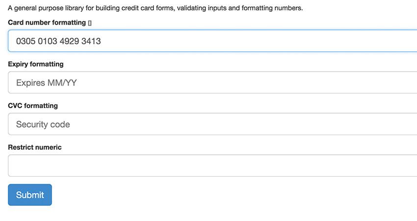 jquery payment plugin stripe open source