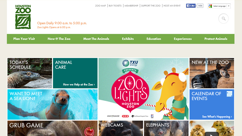 houston zoo texas website natural park