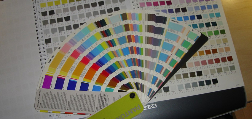 pantone swatches physical swatchbook photo