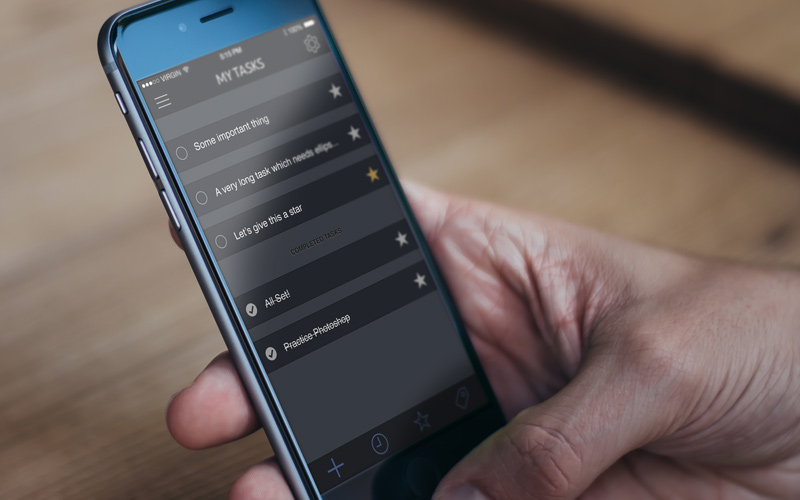 featured preview - ios8 iphone todo tasks app ui psd