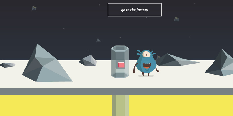 vizua animated creative studio website